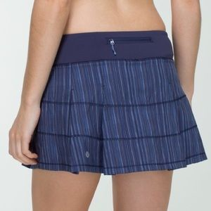 Lululemon Pace Rival Skirt Wee Are From Space Blue